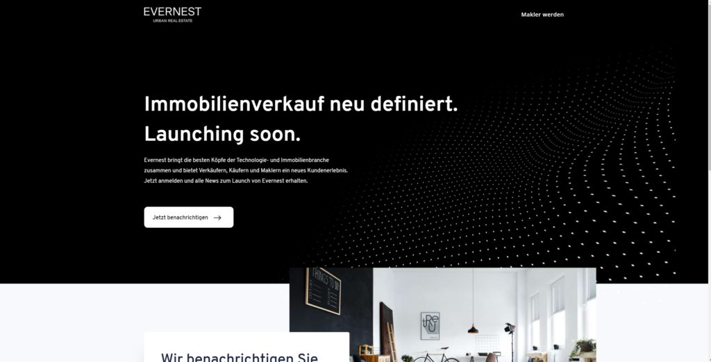 Evernest Website